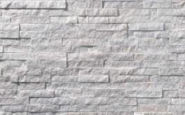 Фасадная панель из камня B&B Scaglietta Bianca 1300