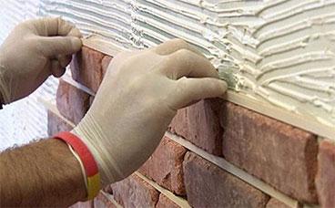 Утепление фасадов и укладка фасадной плитки