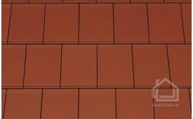 Керамическая черепица CREATON модель Domino Nuance медно-красный ангоб
