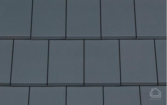 Керамическая черепица CREATON модель Domino Nuance серый ангоб