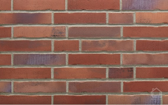 Клинкерная плитка STROEHER Handstrich цвет 392 Rotrost