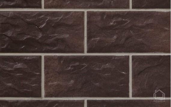 Клинкерная плитка STROEHER Kerabig цвет KS15 Schokobraun