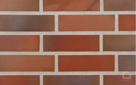 Клинкерная плитка STROEHER Keravette цвет 316 Patrizierrot ofenbunt