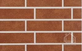 Клинкерная плитка STROEHER Keravette цвет 841 Rosso