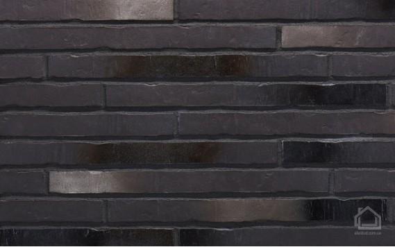 Клинкерная плитка STROEHER Riegel 50 цвет 453 Silber-schwarz
