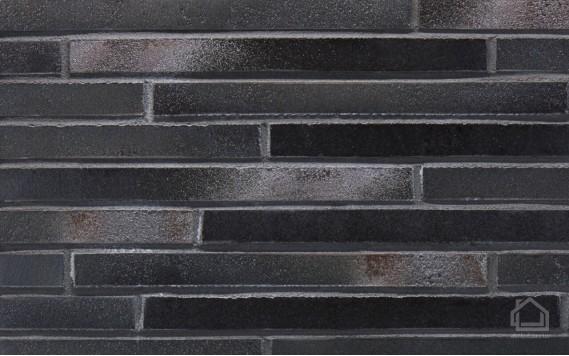 Клинкерная плитка STROEHER Riegel 50 цвет 456 Schwarz-blau