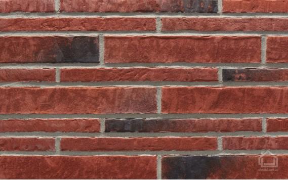 Клинкерная плитка STROEHER Zeitlos цвет 353 Eisenrost