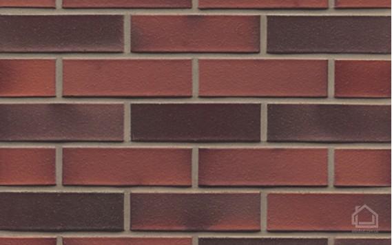 Клинкерный кирпич MUHR NF 03 EG Rot edelglanz glatt