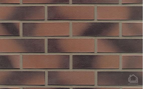 Клинкерный кирпич MUHR NF 11 Rotviolett geflammt glatt
