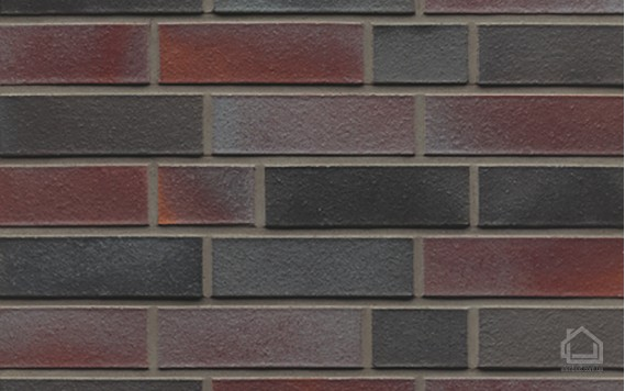 Клинкерный кирпич MUHR NF 25 Violettschwarz glatt